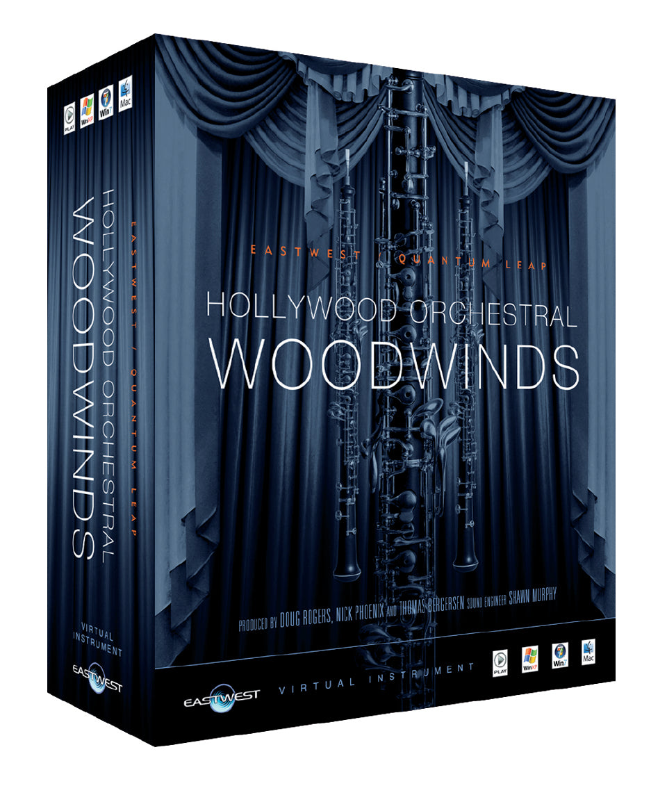 EastWest Hollywood Orchestral Woodwinds - Gold