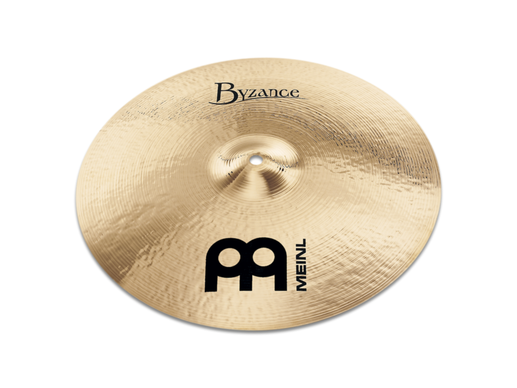 "Meinl 18"" Byzance Brilliant Thin Crash Cymbal"