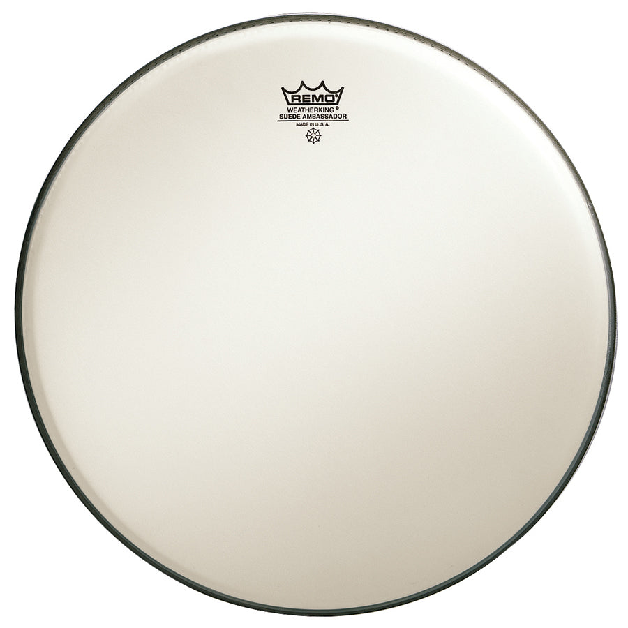 "Remo 18"" Suede Emperor Bass Drum Head"