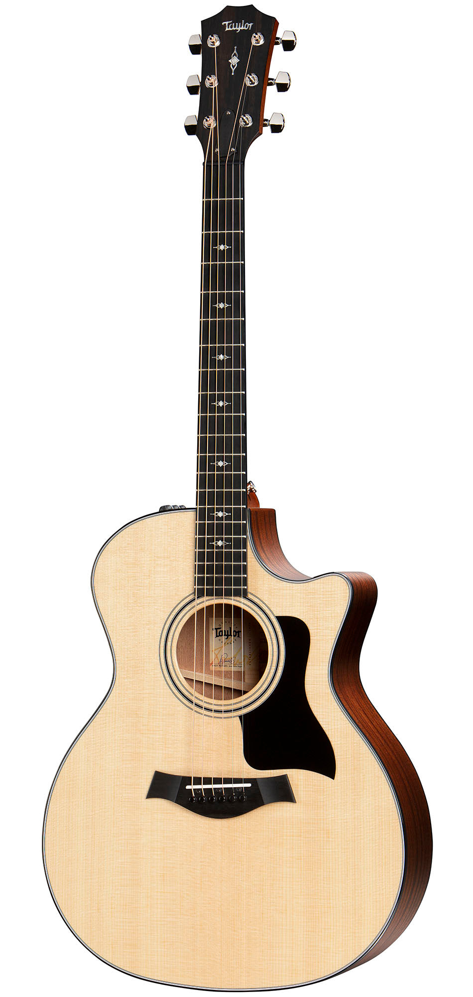 Taylor 314ce-V Grand Auditorium Acoustic Electric Guitar