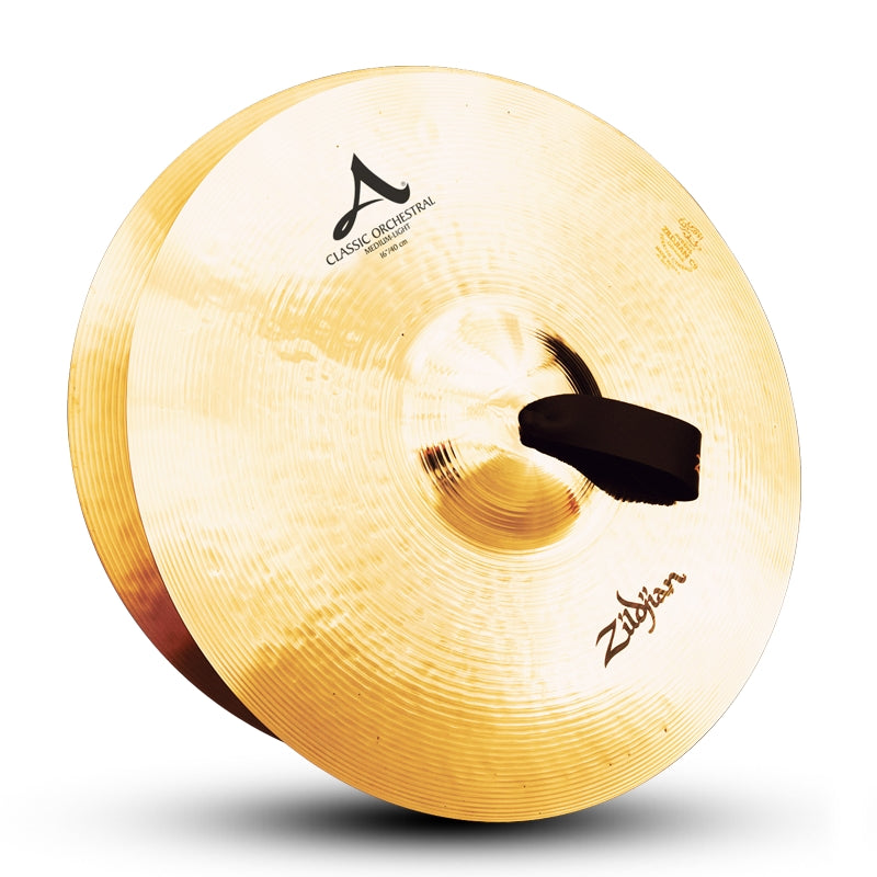 "Zildjian 16"" A Classic Orchestral Selection Medium Light Cymbals - Pair"