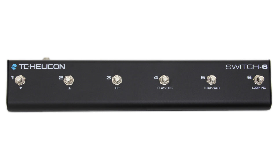 TC Helicon Switch-6 Floor Control Pedal