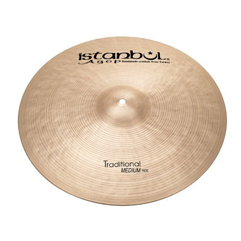 "Istanbul Agop 21"" Traditional Medium Ride Cymbal"