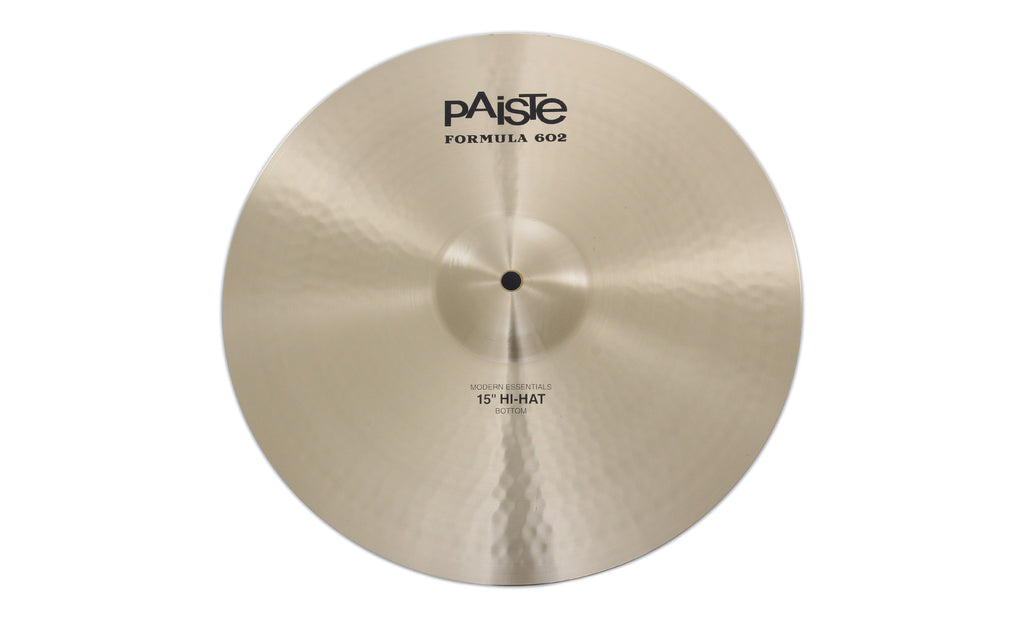 "Paiste 15"" Formula 602 Modern Essentials Hi-Hat Bottom Cymbal"