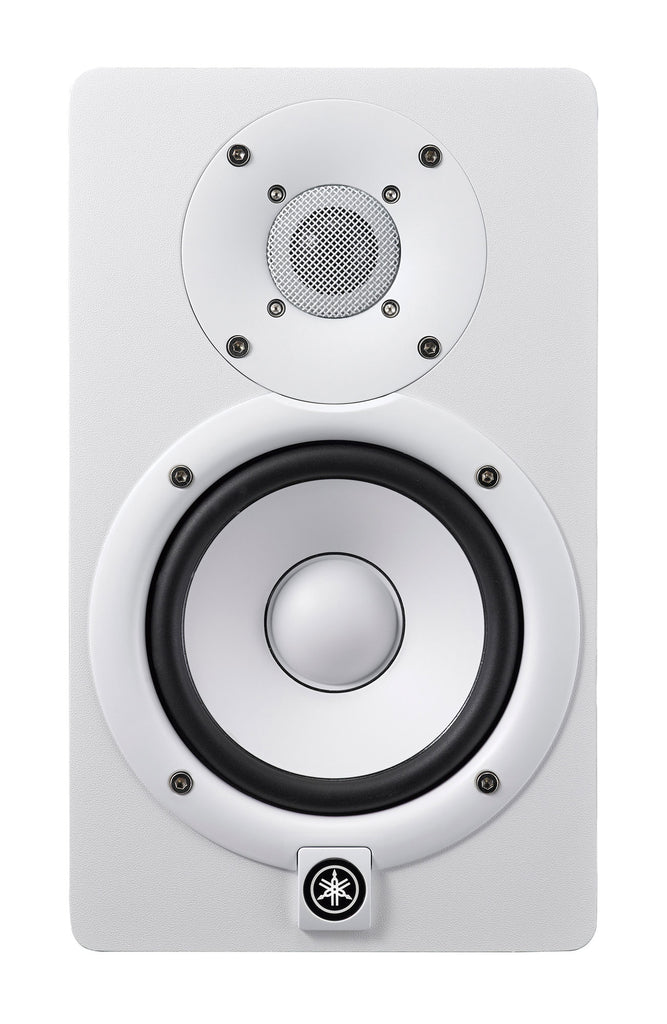 "Yamaha HS5 5""/ 1"" Powered 2-Way Bass-Reflex Studio Monitor - White"