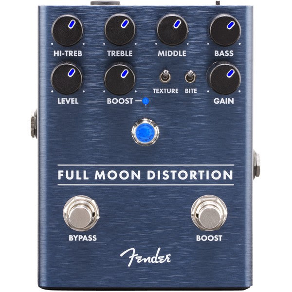 Fender Full Moon Distortion 3-Band EQ Distortion Pedal