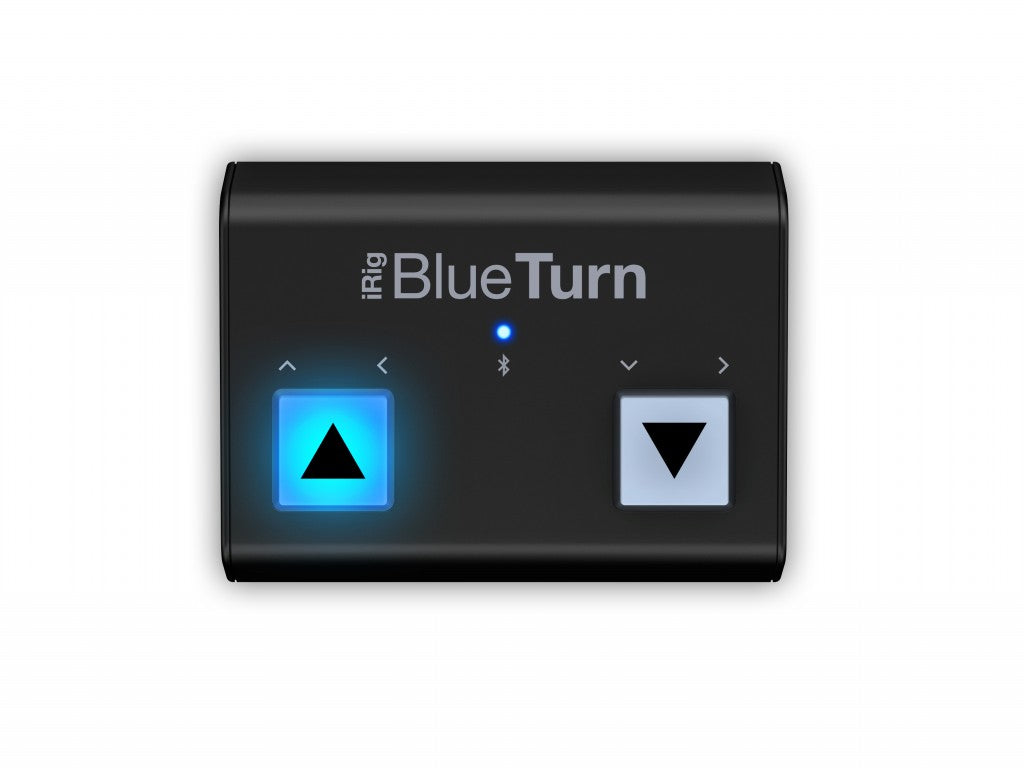 IK Multimedia iRig BlueTurn Backlit Silent Bluetooth Page Turner