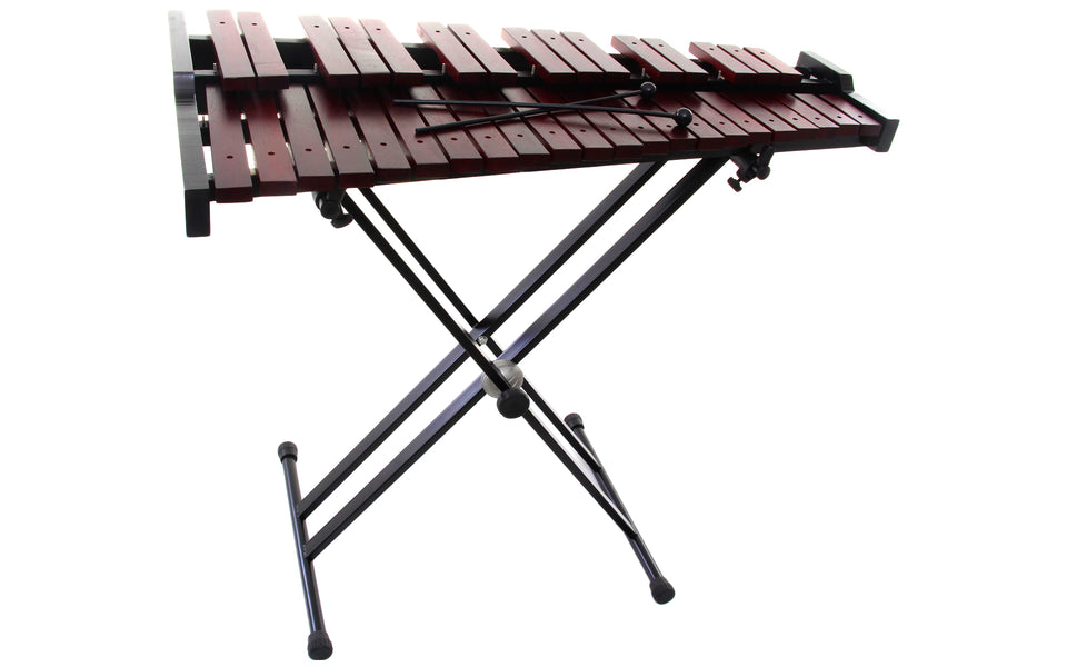 Stagg 37 Key Desktop Xylophone Set W/Stand