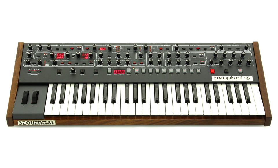 Prophet-6 6-Voice Polyphonic Analog Synthesizer