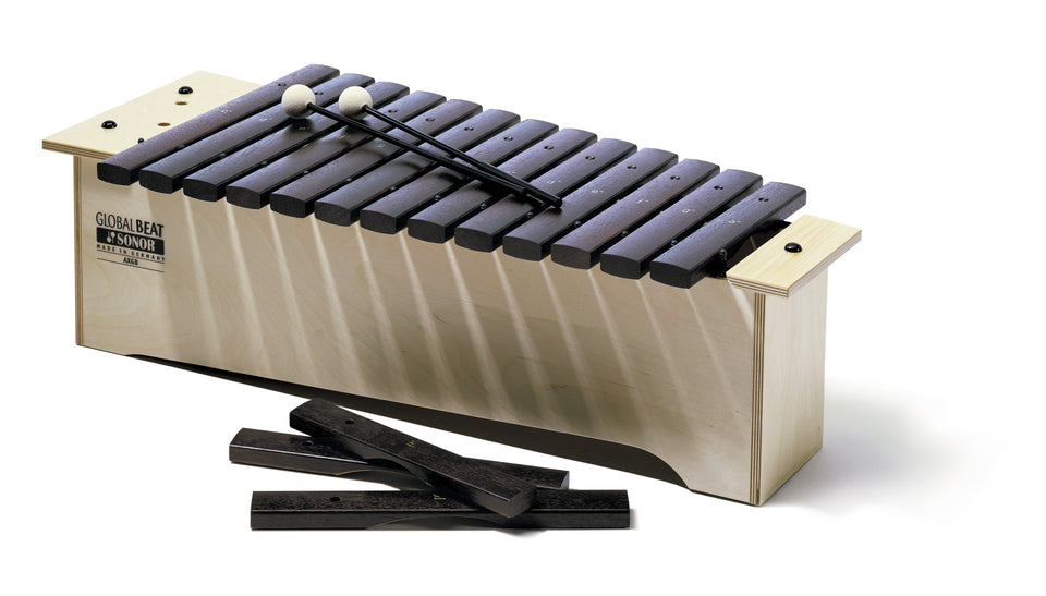 Sonor Orff AX GB Alto Xylophone - Hardwood Bars, Global Beat Series