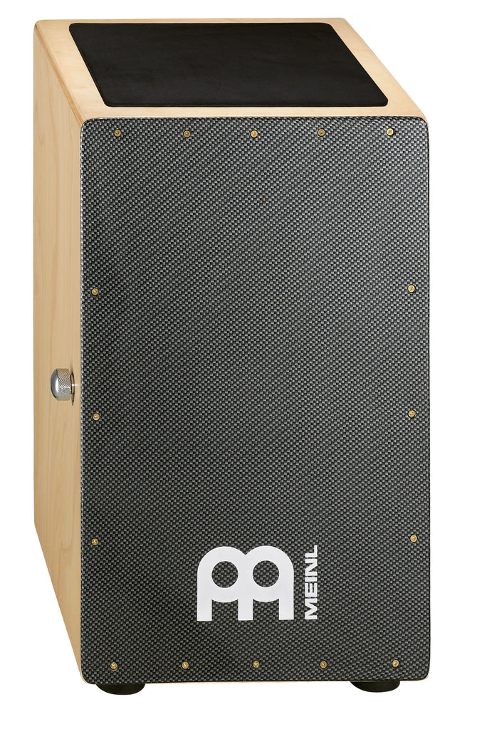 Meinl CAJ1CA-M Modern Snare Cajon with Carbon Finish Frontplate