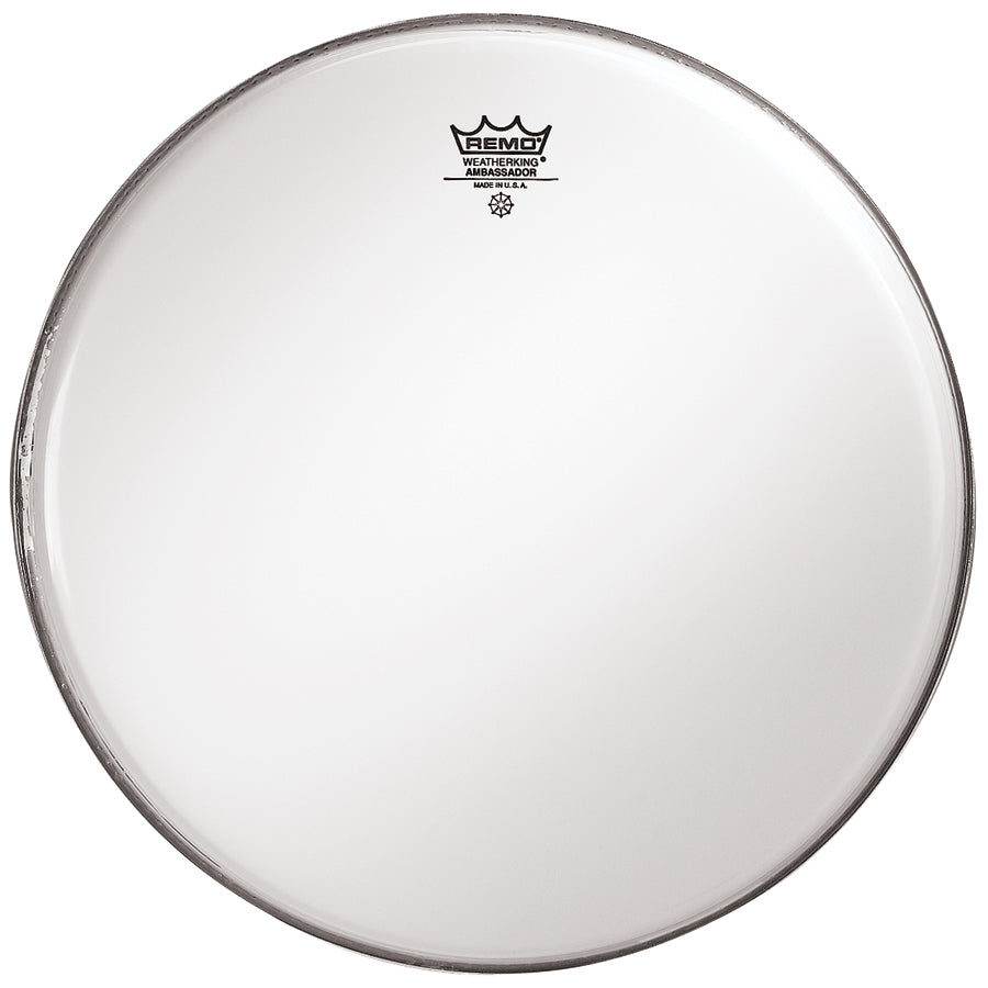 "Remo 6"" Smooth White Ambassador Drum Head"