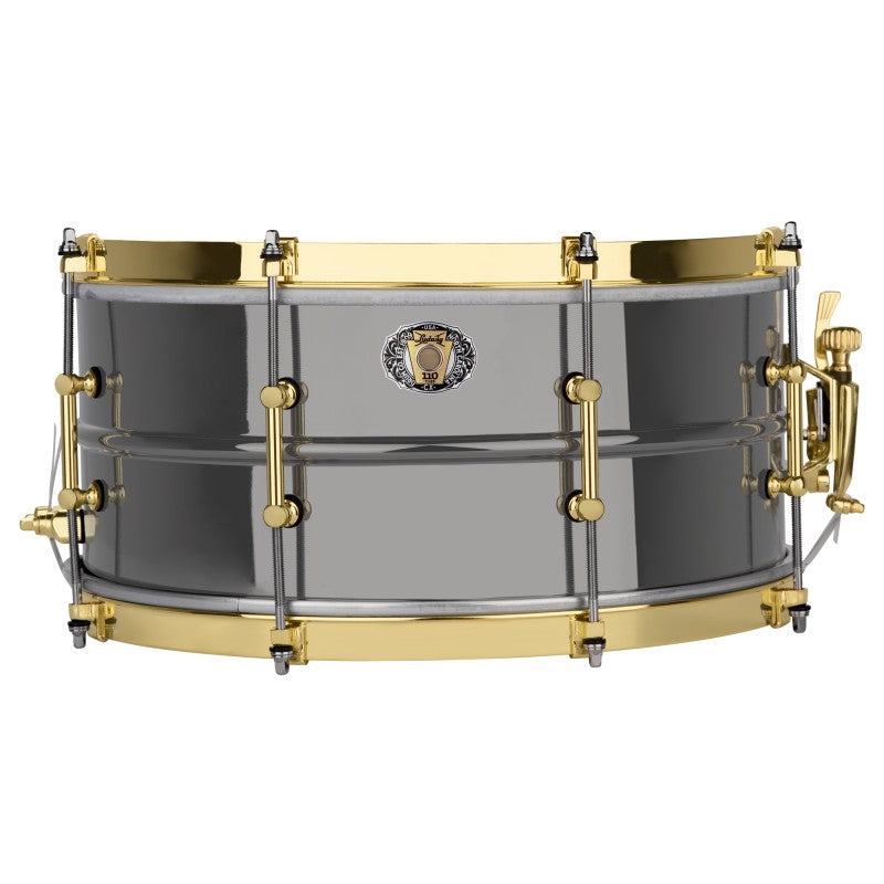 "Ludwig Black Beauty 110th Anniversary 8-Lug Snare Drum - 14"" x 6.5"""
