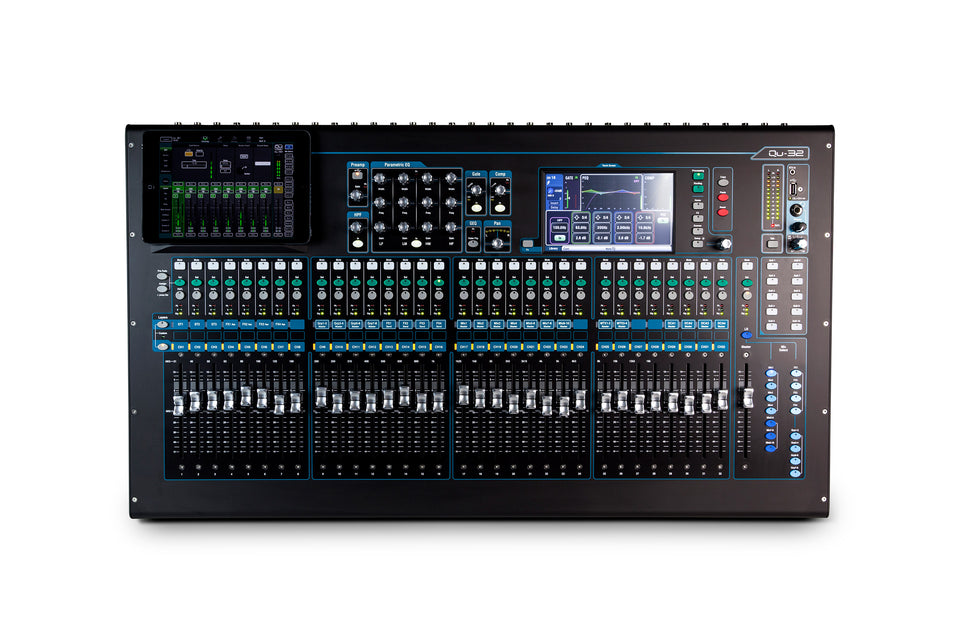 Allen & Heath QU-32C 32 Channel Digital Mixer - Chrome Edition