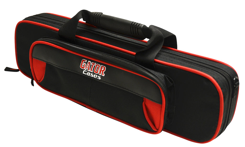 Gator GL-FLUTE-RK Spirit Series Lightweight Flute Case, Red And Black