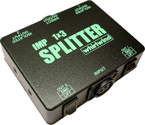Whirlwind SP1X3 Microphone Splitter