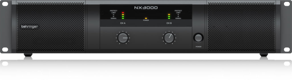 Behringer NX3000 Ultra-Lightweight 3000W Power Amplifier