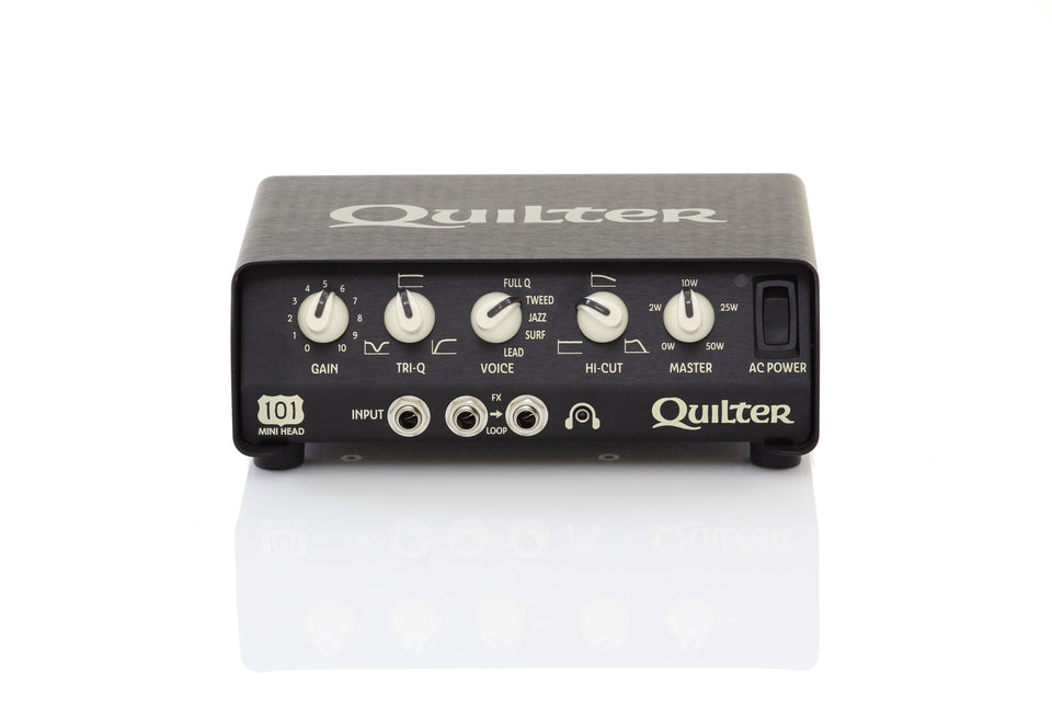 Quilter 101 Mini Head 50/100w Ultra Compact Guitar Amp Head