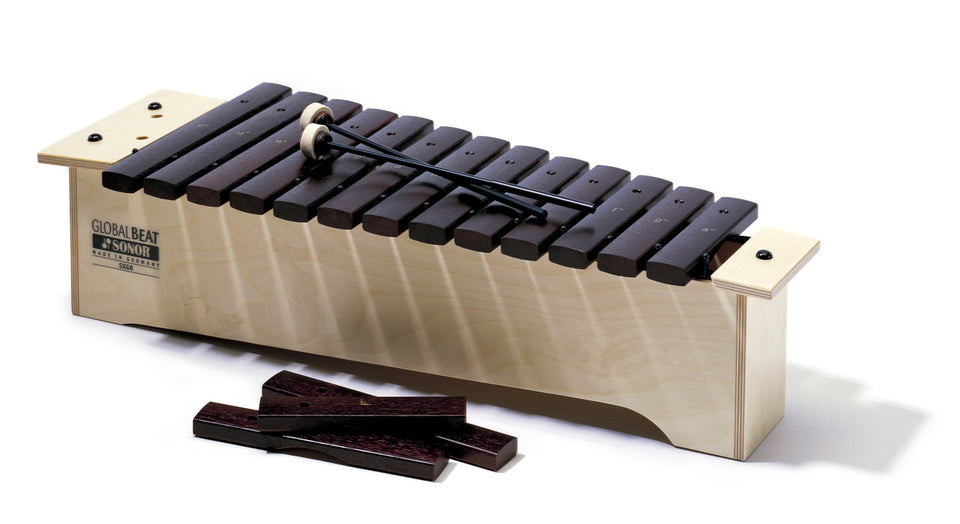 Sonor Orff SX GB Soprano Xylophone - Hardwood Bars, Global Beat Series