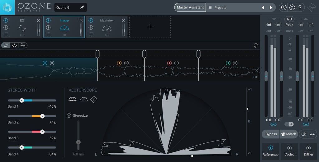 iZotope Ozone 9 Elements Mastering Software