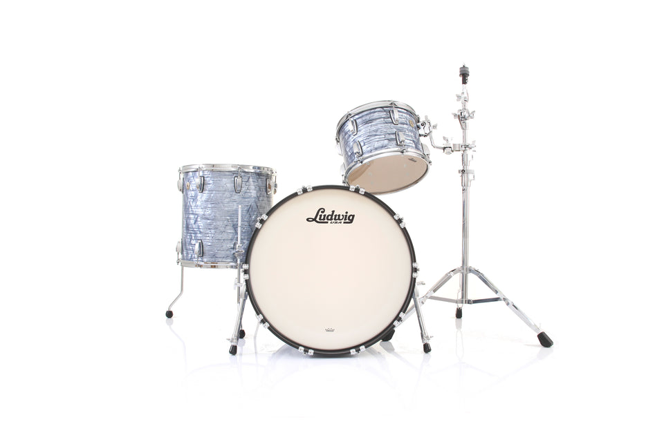 "Ludwig Classic Maple 3 Piece Fab Drum Shell Pack - 22"" Kick"