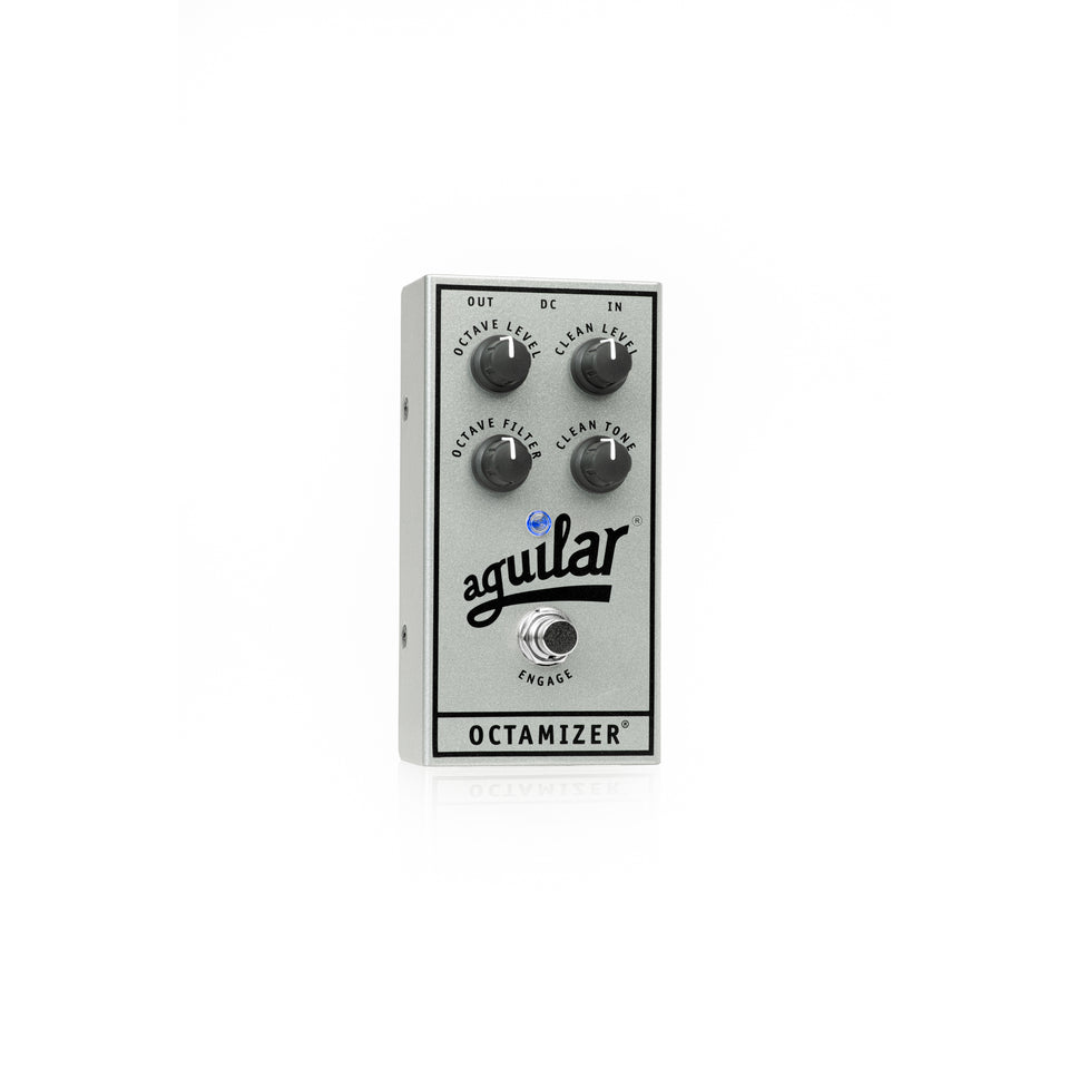 Aguilar 25th Anniversary Octamizer Bass Octaver Pedal - Limited Edition Silver