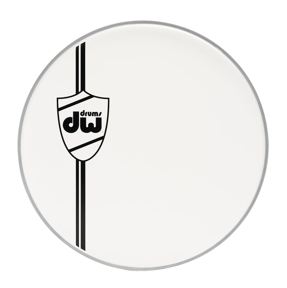 Drum Workshop 22-Inch Classic Coated Bass Drum Head - White