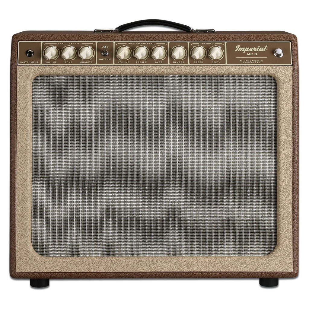 "Tone King Imperial MK II 1 x 12"" Combo Amplifier - Brown/Beige"