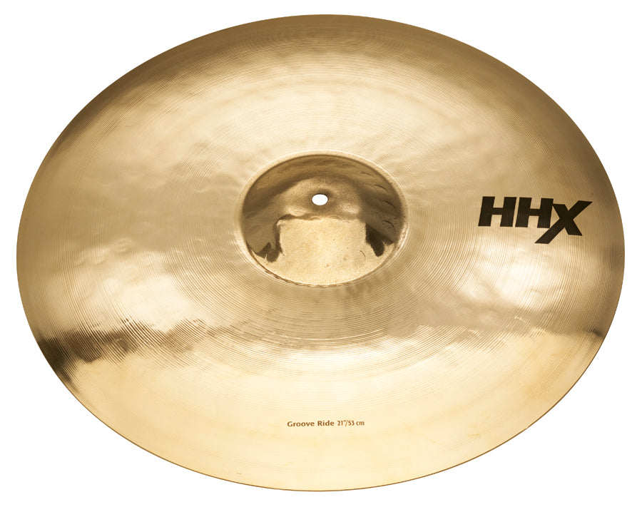 "Sabian 21"" HHX Groove Ride Cymbal Brilliant Finish"