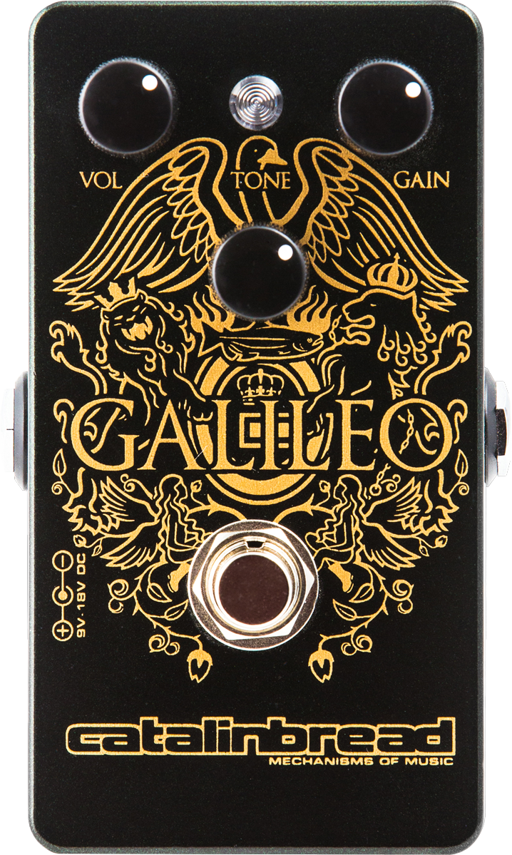 Catalinbread Galileo Overdrive Effects Pedal