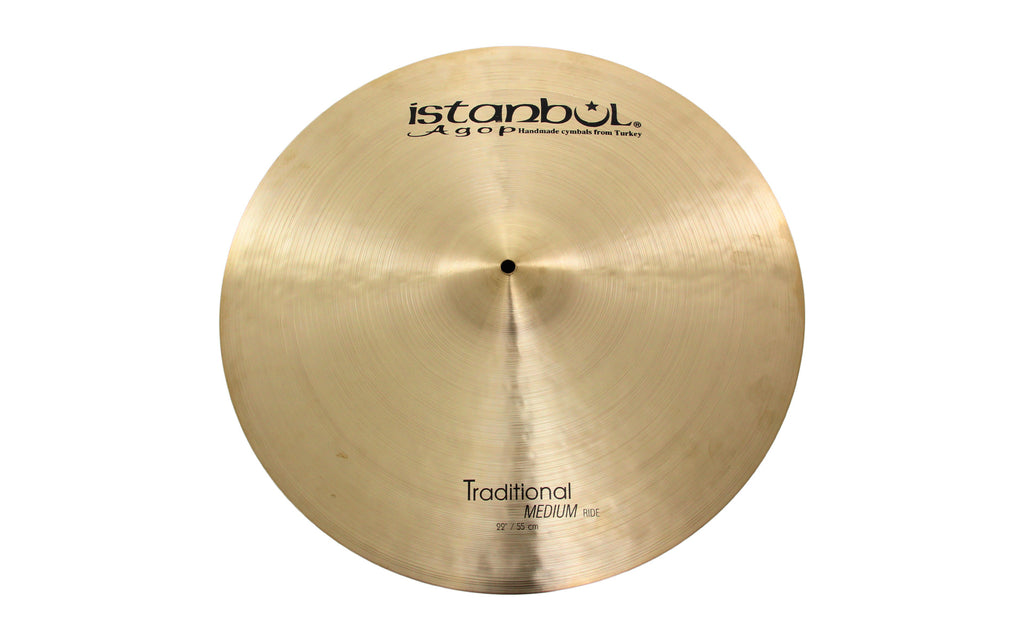 "Istanbul Agop 22"" Traditional Medium Ride Cymbal"