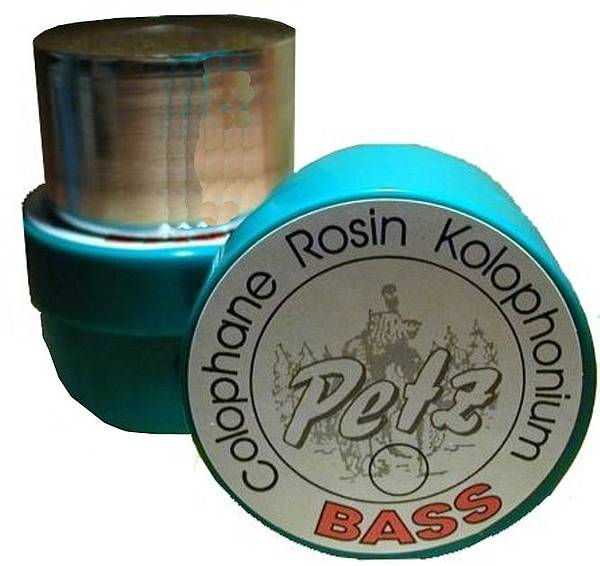 Petz Bass Rosin, #3 Medium