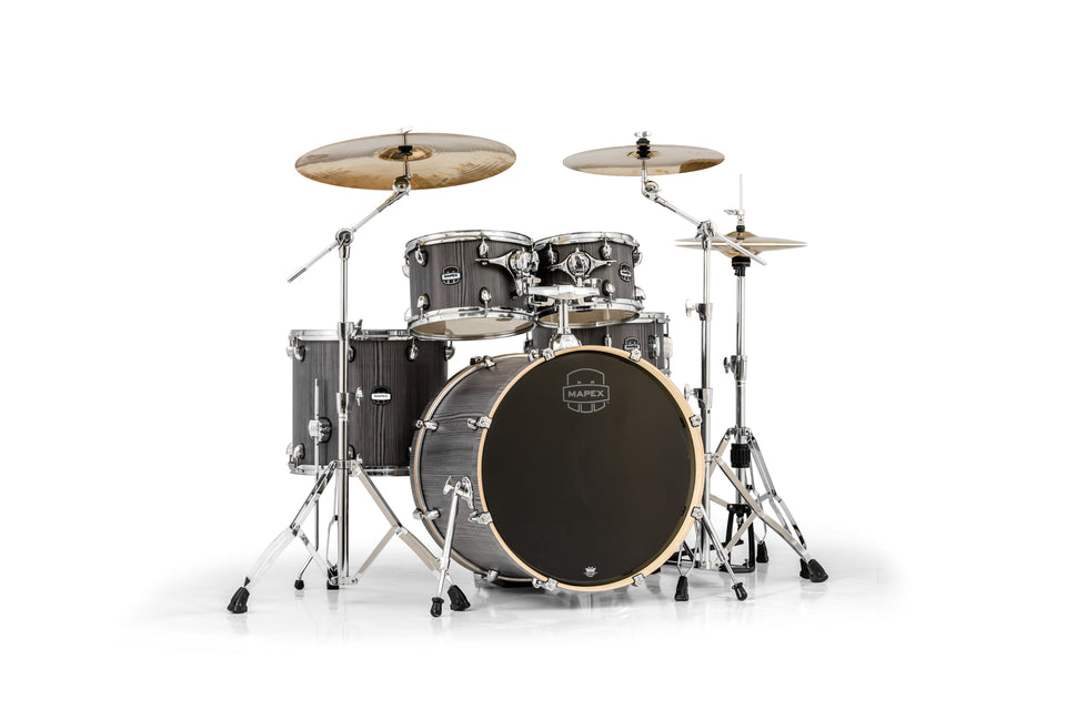 Mapex MA529SFGW Mars Series 5 Piece Rock Shell Pack - Smokewood