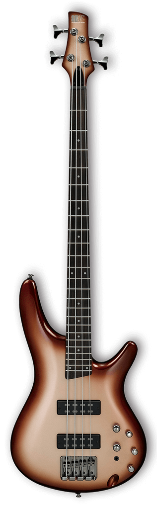 Ibanez SR300E 4 String Electric Bass - Charred Champagne Burst