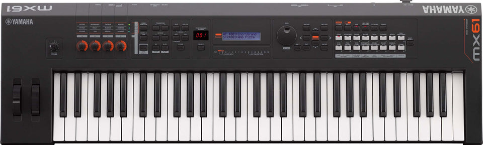 Yamaha MX61BK 61-Key Synthesizer Controller - Black