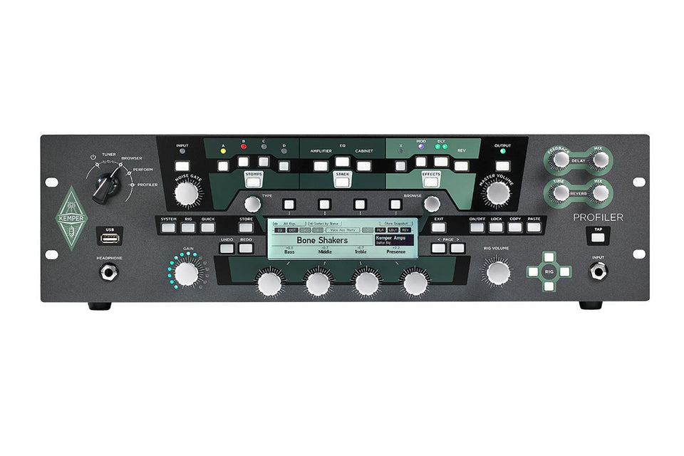 Kemper Profiler Rack Rackmount Guitar Amplifier Modeler