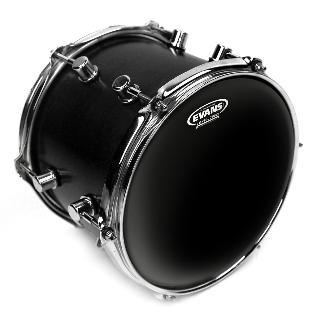 "Evans 15"" Black Chrome Drum Head"