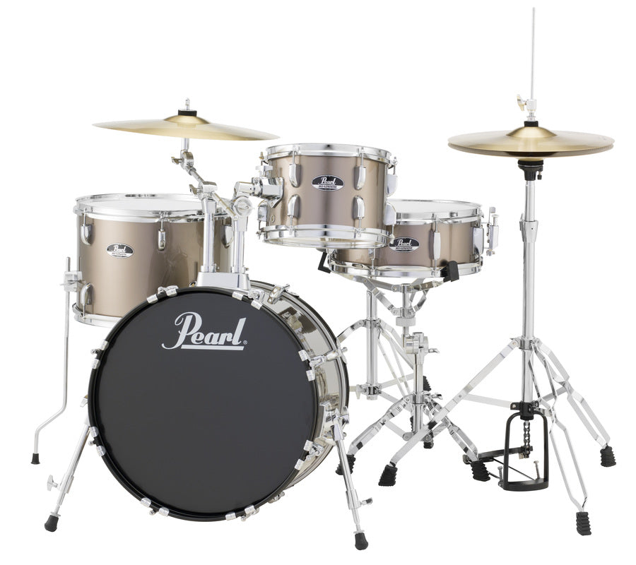 "Pearl Roadshow 4 Piece 18"" Kick Drum Set w/ Cymbals and Hardware"