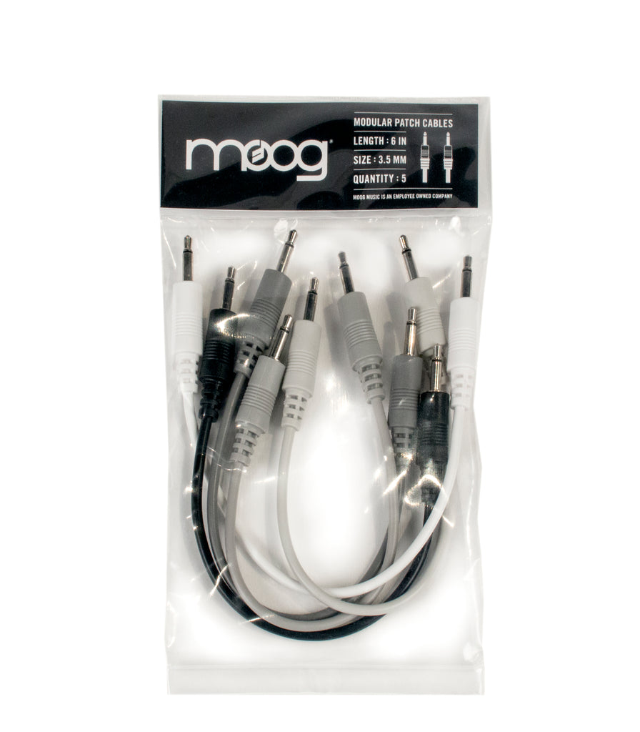 Moog Mother-32 6 Inch Cables (Pack of 5)