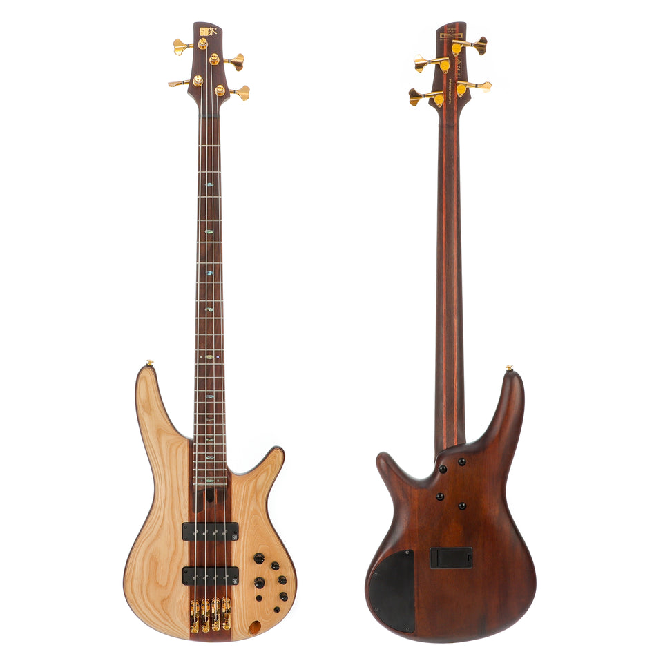 Ibanez Premium SR1300E 4 String Electric Bass - Natural Flat