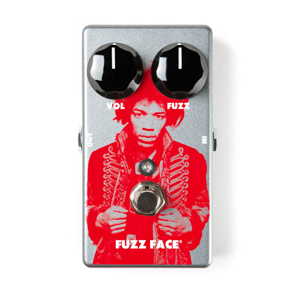 Dunlop JHM5 Jimi Hendrix Fuzz Face Distortion Effect Pedal