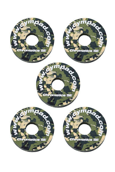 Cympad Chromatics Cymbal Enhancer Set - 40/15mm, Camouflage