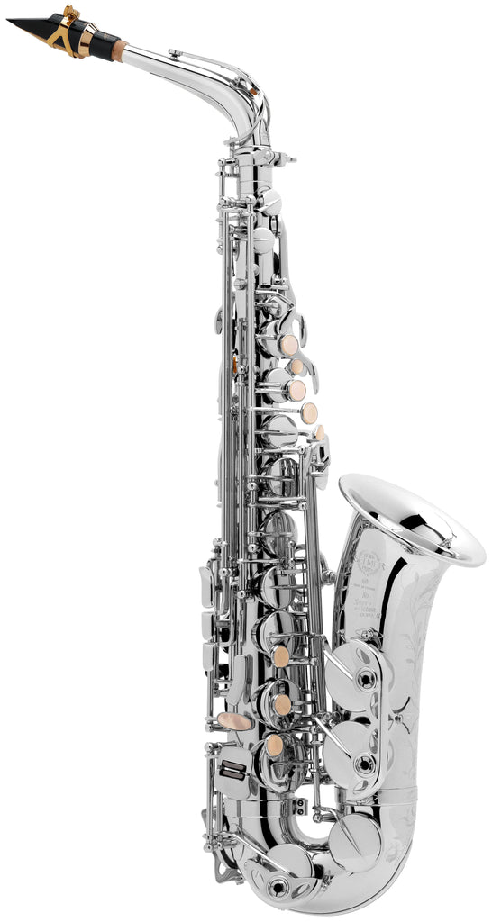 Selmer Super Action 80 Series II Alto Saxophone - Silver Plate