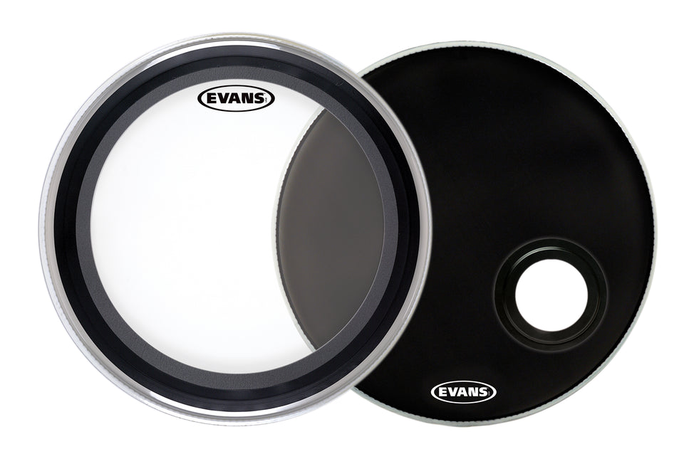 "Evans 22"" EMAD Bass Drum Head System Pack"