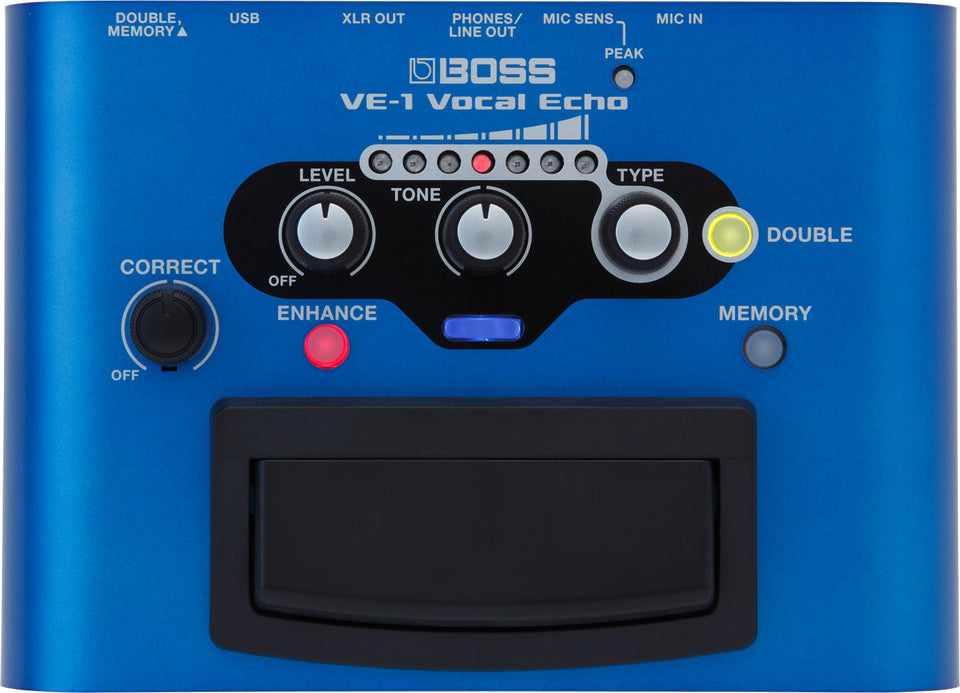 BOSS VE-1 Vocal Echo Effect Pedal
