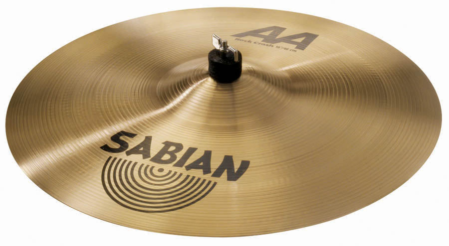 "Sabian 18"" AA Rock Crash Cymbal Brilliant Finish"
