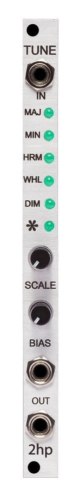 2hp Tune Multi-Scale Pitch Quantizer Module