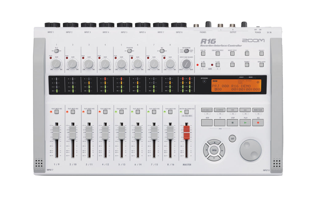 Zoom R16 Multitrack Recorder, Interface, & Controller