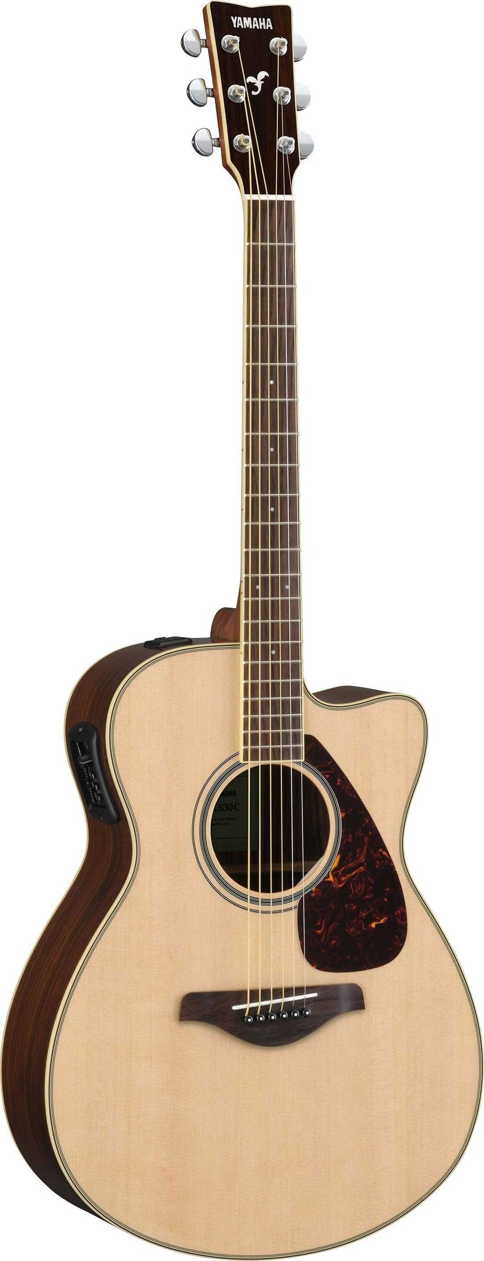Yamaha FSX830C Small Body Acoustic Electric Guitar
