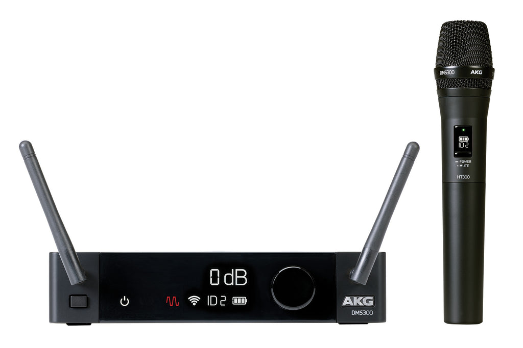 AKG DMS300 8-Channel 2.4GHz Digital Wireless Microphone System